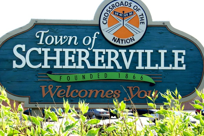 The Town of Schererville, Indiana Welcomes You