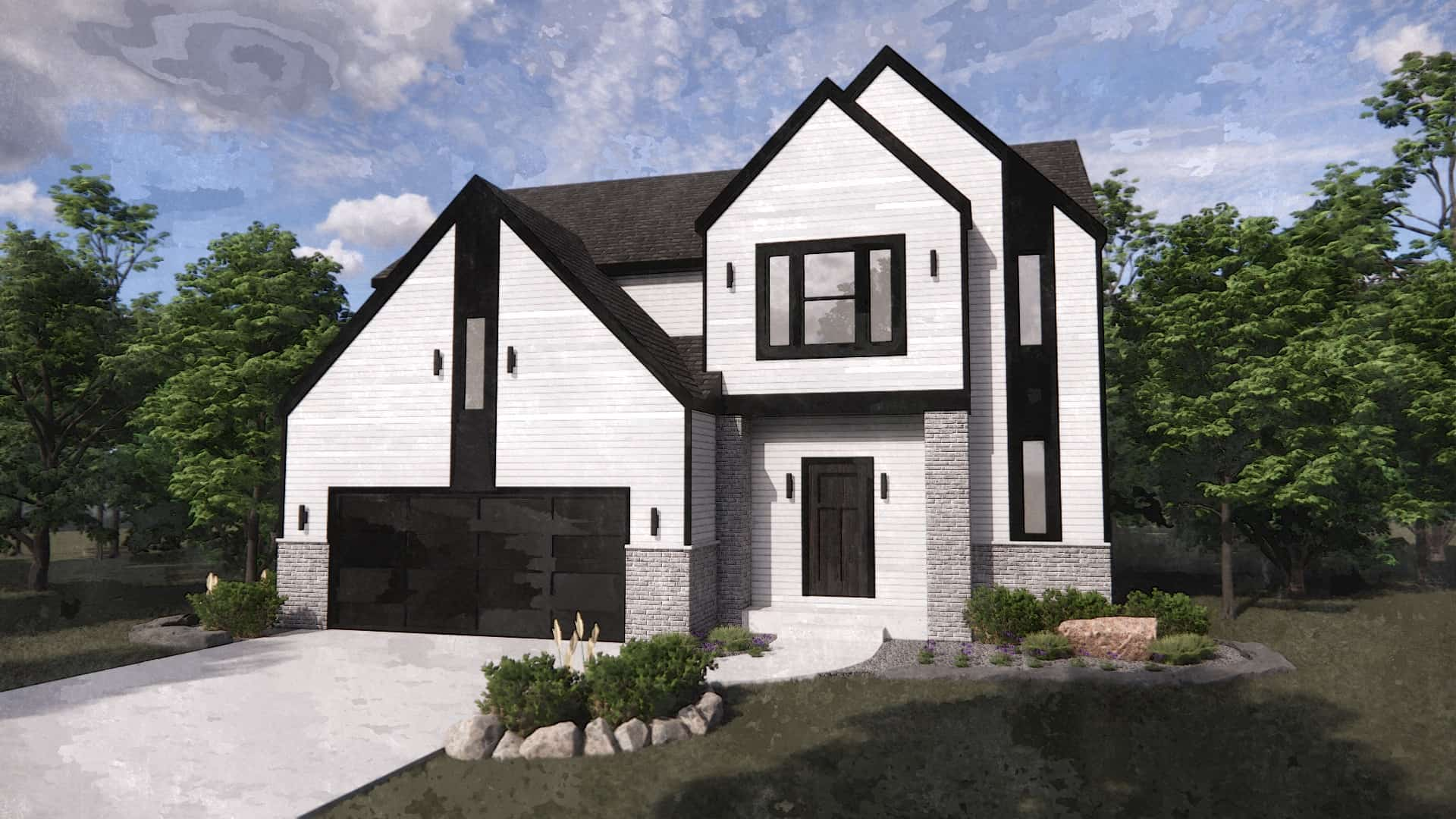 two story custom built home for sale in indiana